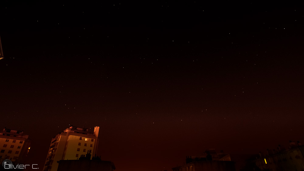 Sample photo from the timelapse
