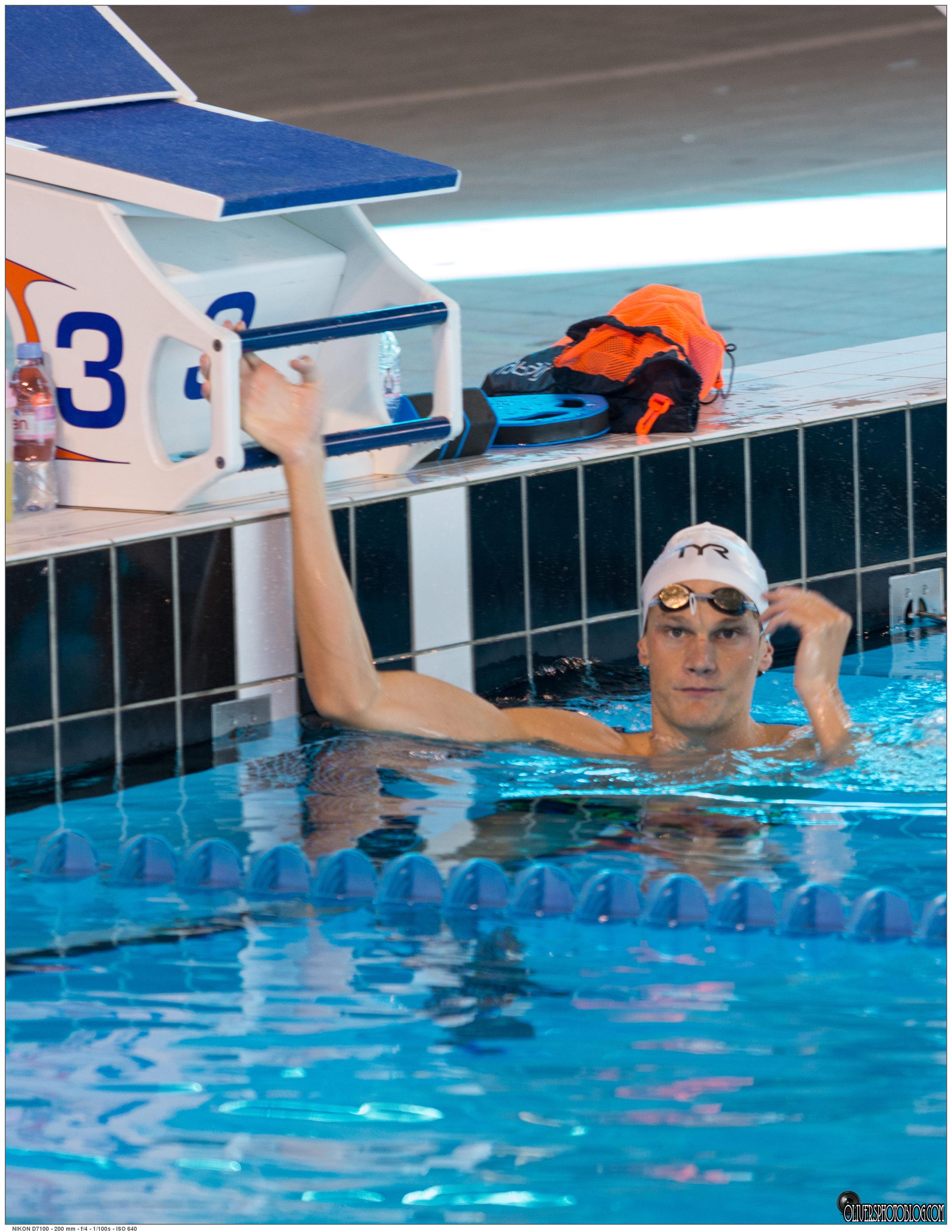 Equipe de france de natation dijon qu tigny oliver for Piscine quetigny